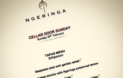 Cellar Door Sundays