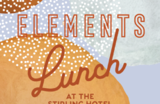 Elements Long Lunch at the Stirling Hotel – Sunday 25th July 12:30pm